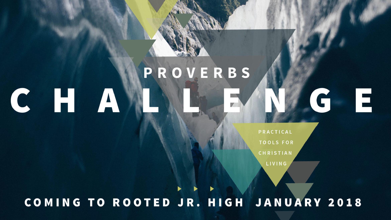Jr. High Proverbs Challenge