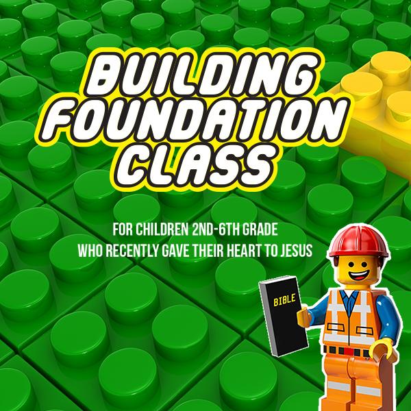 Kids Building Foundation Class